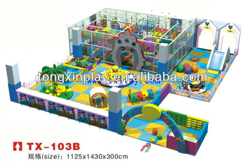 kids indoor tunnel playground TX-103B