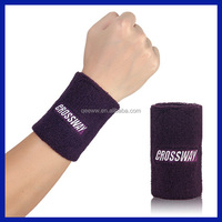 Design your own logo wholesale custom embroidered cheap custom bulk neon wrist sweatbands