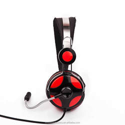 metai headband gaming headset with beatles design/ free sample high quality headphone frim factory in china