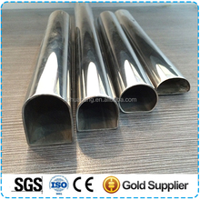 Stainless steel 316L 304 202 201welded pipes,Special Size Trapezium Square Round Ellipse