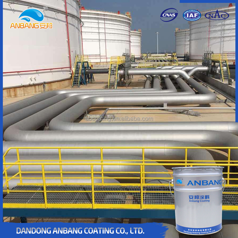Steel pile middle layers two-component excellent waterproof coating