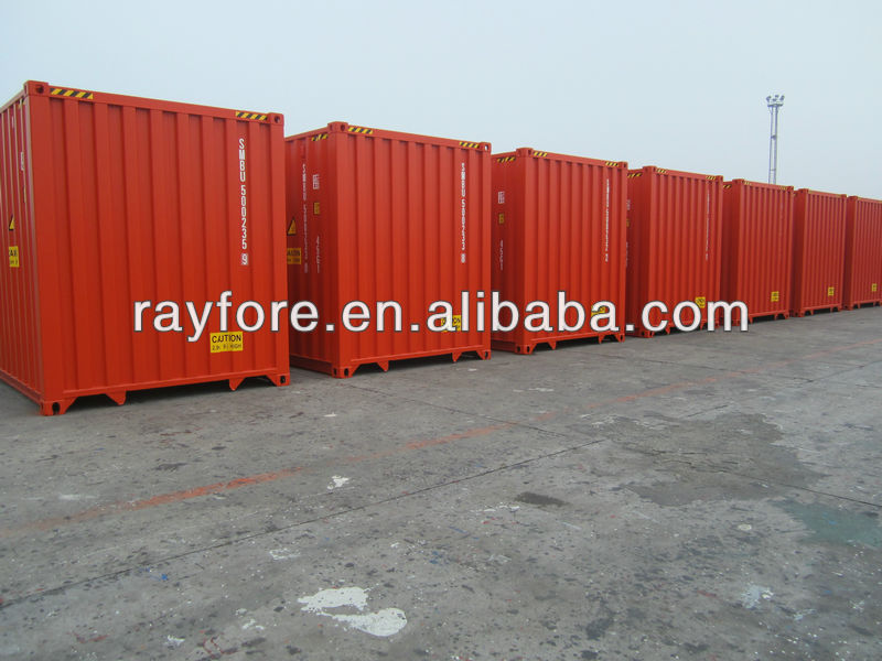 40 HQ ISO container sea dry container