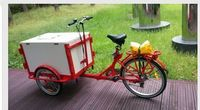 Cofe cargo bike v brake trike ice cream cargo bicycle for sale tricycle cargo bike/cargobike/cargo tricycle bikes UB9005B