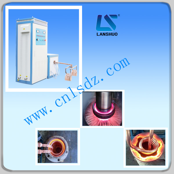 shaft heat treatment/ shaft induction hardening machine