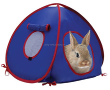 Folding Pop Up Collapsiable Blue Small Rabbit Cat Play Tent