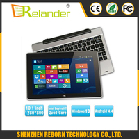 Dual os Intel Z3735F Quad Core tablet pc 10 inch windows tablet / tablets 10.1 android 4.4