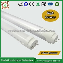 5years Quality Guarantee UL/ RoHS/ CE 100lm/w SMD chip 1200mm t8 Led Tube 8