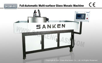 Glass PLC Computerized Deluxe Mosaic Machine