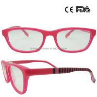 China Wholesale Kids Eyeglass Acetate Eyewear