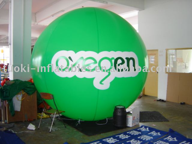 TK Inflatable Advertising plastic Sky Balloon for sales
