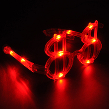 Customized Symbol Flashing Led Sunglasses