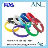 Dongguan factory Silicone Support Bracelets