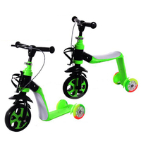 2017 Hot selling kids scooter 2 IN 1 baby cheap bmx scooter for sale