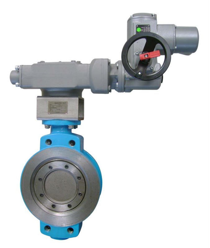 Triple eccentric butterfly valve with AUMA Actuator