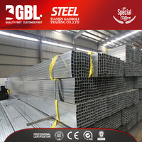 china supplier hollow thin wall galvanized steel square tubing weight chart