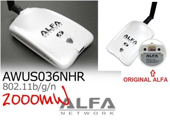 Alfa Awus036NHR Wifi Adapter Booster