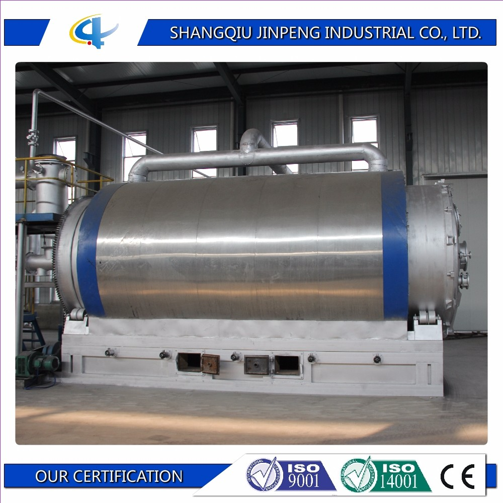 Tire Machine Type Waste Rubber to Furnace Oil