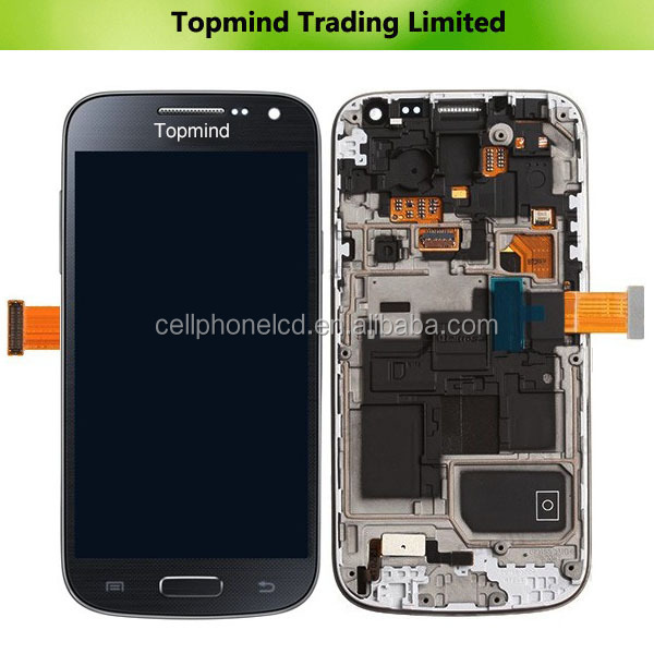 Mobile Phone LCD for Samsung Galaxy S4 Mini GT-i9195 LCD with Touch Screen with Frame