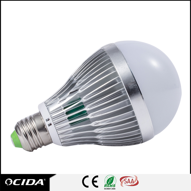 Battery Power 44 smd 5050 led corn light bulb e27 8w Chandelier Led Refrigerator dimmable Light Bulb