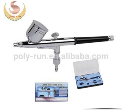 NEW 0.2mm&0.3mm DUAL-ACTION AIRBRUSH GUN GRAVITY PAINT TATTOO (PR-130)