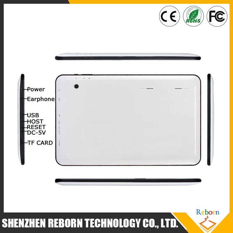 Cheap OEM / ODM 10Inch Android Tablets PC 1GB 32G WIFI Bluetooth Dual camera 1GB 16GB 1024*600 10 tab pc Quad Core A33 Tablet
