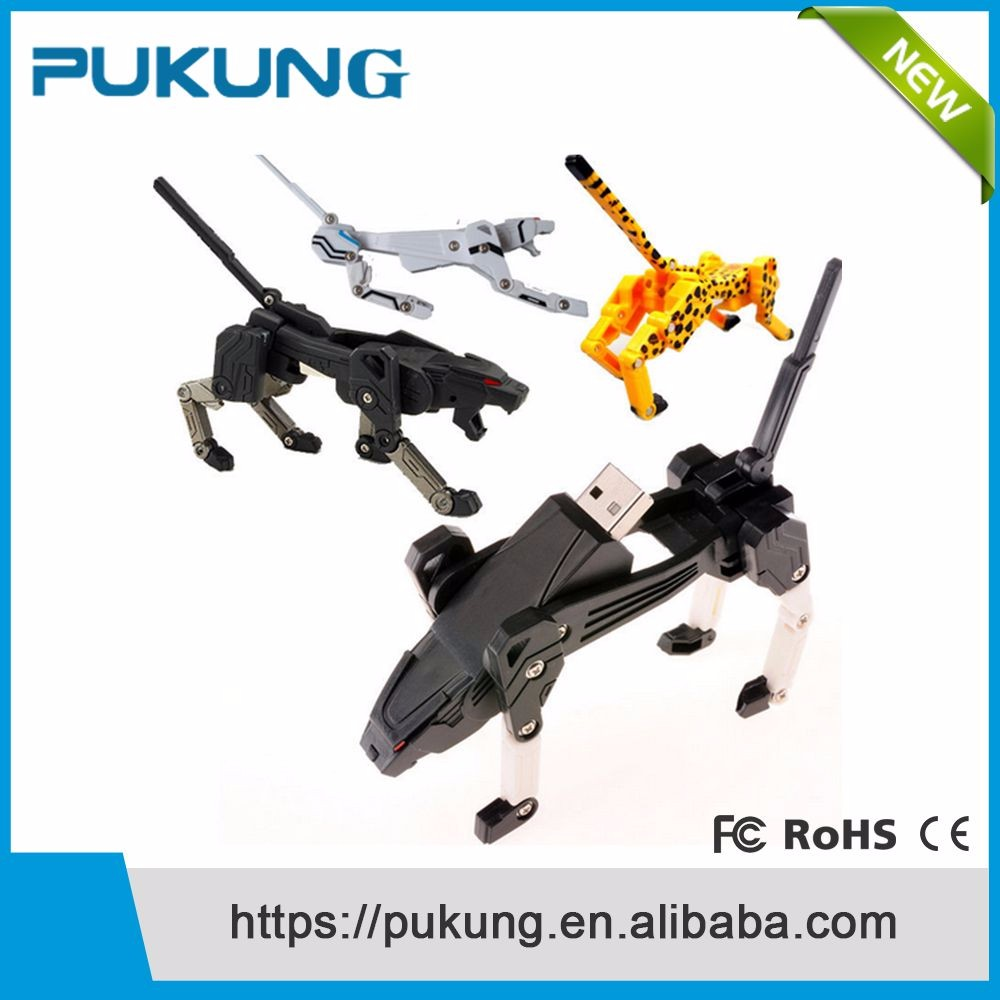 Usb 2.0 carton transformation usb,robot dog 8gb flash memory stick