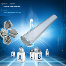 Best Waterproof Cover LED Lamps, Top Industrial LED Linear High Bay With TUV,SAA,UL