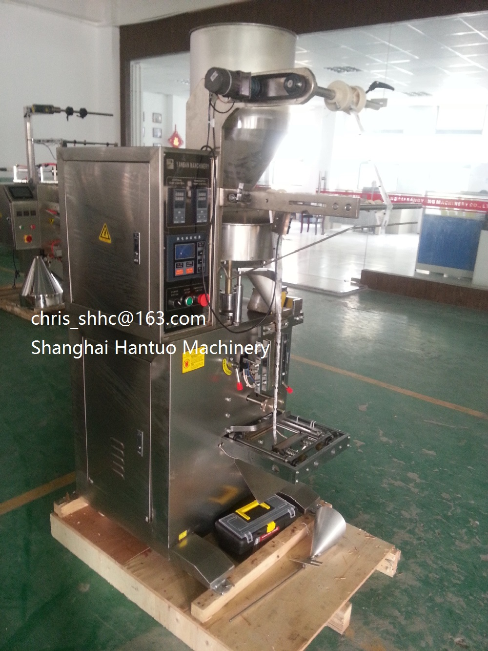 VFFS Volumetric Cup Granule Packing Machine For sale HT-280K