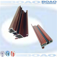 140 patents supplier anodized extruded aluminum frame for windows and doors profiles