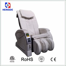 High quality paper bills token operated massage chair vending machine