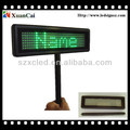 PBMLD-O735-M remote control&PC software rechargeable LED message panel