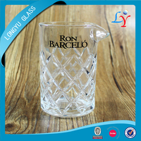 glassware barware prices 500ml/750ml cocktail glass yarai mixing glass japanese glass cup for bar