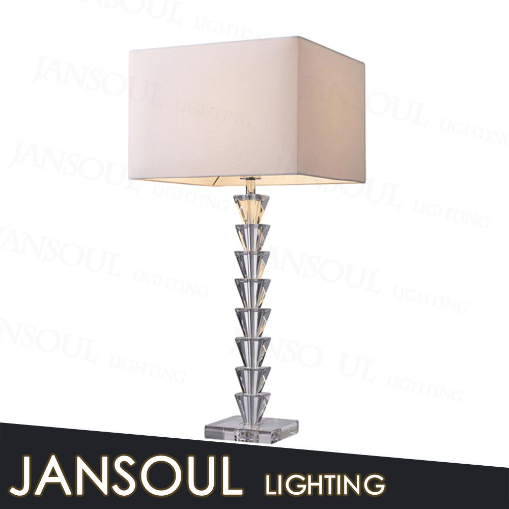 Hotel/home Decorative Table Lamp Made In China Fancy Crystal Table Centerpieces Lighting With ...