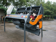 new aggregate spreader for road construction