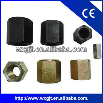 Hex thick nut cold forging used in NAVECO track