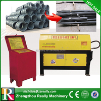 Automatic steel bar straightening and cutting machine, professional machine to straighten wire