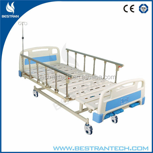China BT-AM110 Cheap hospital steel bed, babies nursing bedding set with side rails
