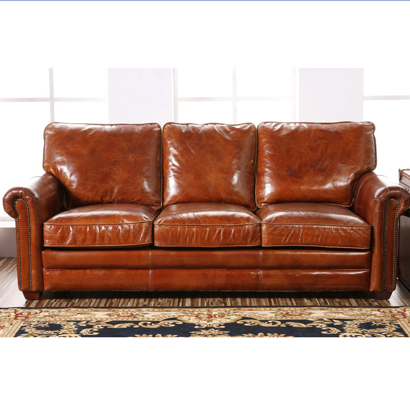 Retro Barrington Antique Leather Sofa View Antique Leather Sofa Defaico Product Details From