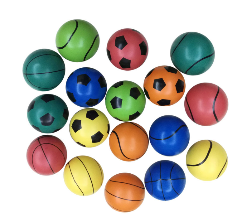 60mm cheap custom rubber bouncing ball