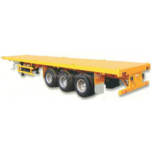 Container 40ft Tridem Axle Flatbed Trailer