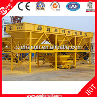 Full Automatic Mobile Aggregate batcher PLD1200 with CE certified