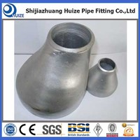 SS316 Butt Welded Seamless Stainless Steel Eccentric Reducer