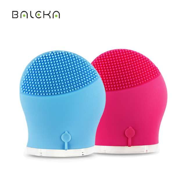 Waterproof Electric Silicone Facial Sonic Cleansing Brush Deeply Cleaning And Skin Care Products