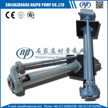 Rubber Lined vertical slurry pump taobao china supplier in stock