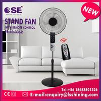 3AS blade electric 16'' stand fan plastic parts line grill with rim