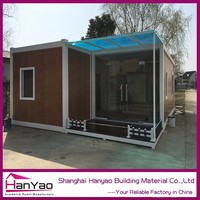 Stainless Steel Simple Small Container House Movable Bathroom Container House For Temporary Use