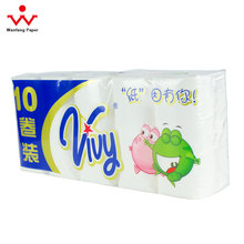 100% Virgin Wood Pulp Toilet Paper Rolls Soft Facial Tissue Pocket Tissue & Jumbo Rolls