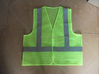 Mesh Safety Vest With PVC Pocket