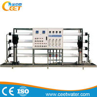 CEET pure water treatment plant water purification system with frp tank