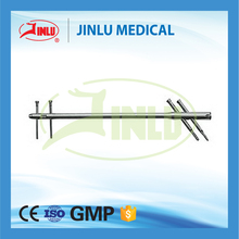 ISO 9001 certificated Hospital surgical nail titanium trochanteric fixation nail system